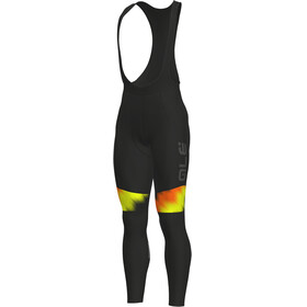 Alé Cycling Solid Pulse Bibtights Men black-grey-fluo orange